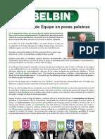Los Roles de Equipo BELBIN en Pocas Palabras.
