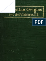 Christian Origins (1906) Pfleiderer, Otto, 1839-1908