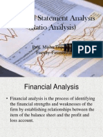 SESSION 1 Financial Statement Analysis
