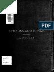 Strauss and Renan; An Essay (1866) Zeller, Eduard, 1814-1908