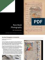 Rare Book Photography