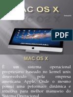 MAC OS X Trabalho