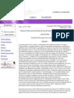 TRADUCCIÓN ADAPTACIÓN DE TESTS EDUCATIVOS Y PSICOLÓGICOS