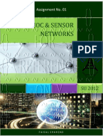 Adhoc & Sensors Networks - Assignment No. 01