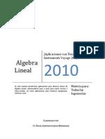 Álgebra Lineal- Aplicaciones con Voyage 200