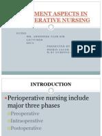 Treatment Aspects in Perioperative Nursing