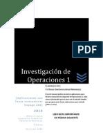Investigación de Operaciones 1- Aplicaciones con Voyage 200