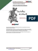 Dios Azteca de La Muerte-Dia de Muertos en PDF