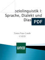 Sprache Dialekt Diasystem