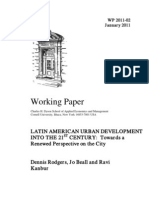 Latin American Development Into 21st Century