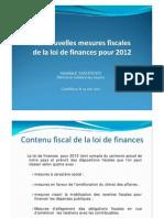Nouvelles Mesures Fiscales Loi Finances