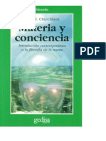 Materia y Conciencia Churchland