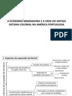 Mineracao Crise Sistema Colonial