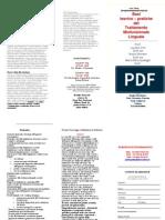 Brochure Corso Tmf 2011