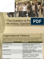 004 the Question of Popularity Organizational Patterns