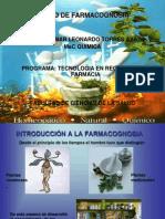 Introducion a La Farmacognosia