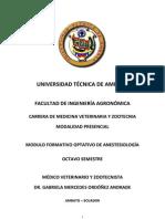 modul de Anestesiología final
