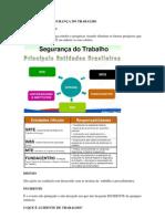 CONCEITOS DE SEGURANÇA DO TRABALHO