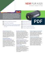 Flir a325 Thermal Camera Datasheet