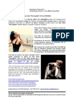 """Communiqué Presse - Clip vidéo """"Ma fragilité"""" - Eva LEONARD"""