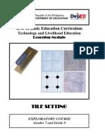k to 12 Tile Settings Learning Module