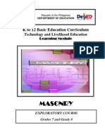 k to 12 Masonry Learning Module