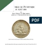 1760 ZURLAUBEN La Bataille de Staffarde 18 Aout 1690