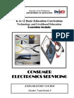 k to 12 Electronics Learning Module