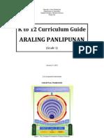 k to 12 - Araling Panlipunan - Feb.15, 2012