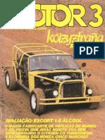 Revista Motor 3 - Agosto de 1983