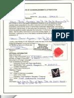 317 MACARTHUR DRIVE DOVER, DELAWARE 19901(Land Lot # 173 White Oak Farms Development) Authentic Deed Acknowledgement & Acceptance