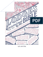 Rice - Lodges Examined by the Bible-Is It a Sin for a Christian to Have Membershipr