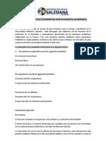 Reglamento de Becas Economicas Por Ayudantia