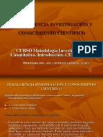 Tema 1 Metodología de la Investigación