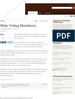 Make Voting Mandatory  Council on Foreign Relations