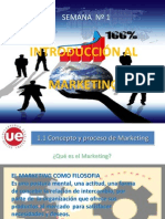 Semana 1 Introduccion Al Marketing