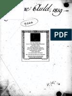 The Deist 1st Issue 1819