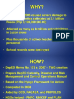 Introduction to the DepED DRR Manual