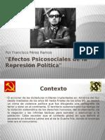 Efectos Psicosociales de la represión política