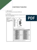 Exteranl Alarm Connection Guide