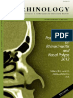 Chronic Rhinosinusitis 2012
