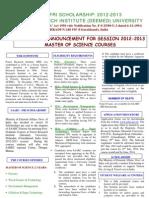 SAARC-FRI Fellowship