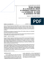 Determinación del Origen de Vodkas Por Análisis de Componentes Principales (PCA)