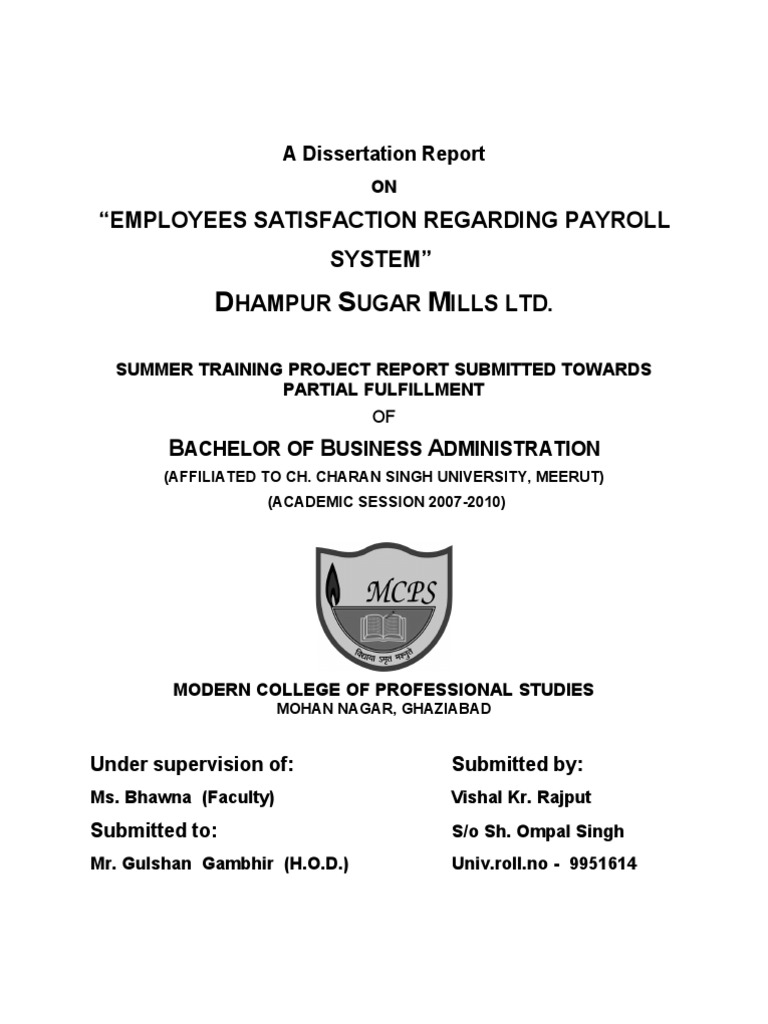 employee payroll system thesis We hope that the new process will improve the efficiency and accuracy of the payroll system ( once the employee has been in the payroll/personnel system for.