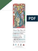 Bases I CONCURSO NACIONAL DE COMPOSICIÓN DE MARCHAS PARA CABALGATA DE REYES MAGOS