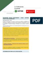 Becas Santander Crue Cepyme PDF