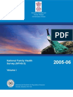 National Family Health Survey 2005-06