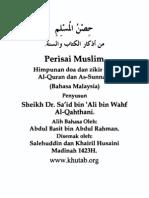 Melayu - Hisnul Muslim - Malaysian - Malaysisch