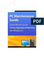 80635708 PC Maintenance Guide Windows 7