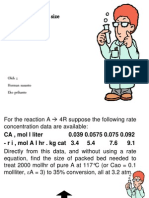 Plug Flow Reaktor Size Ppt